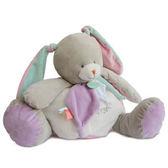 Doudou 粉綠紫兔抱抱布偶 (40cm)