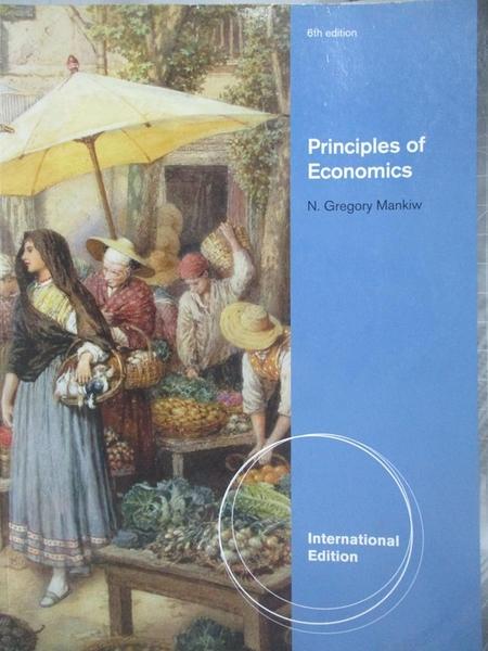 【書寶二手書T7/大學商學_XAL】Principles of Economics_Mankiw