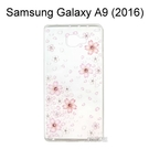 施華洛世奇彩鑽透明軟殼 [櫻花] Samsung Galaxy A9 (2016)