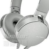 【曜德】SONY MDR-XB550AP 白色EXTRA BASS™ 線控耳罩式耳機 / 免運 / 送收納袋