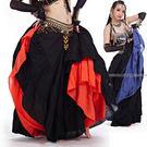 雙層二件式波西米亞肚皮舞裙肚皮舞腰鍊.中東肚皮舞腰巾腰鏈.舞蹈服飾.哪裡買專賣店特賣會便宜