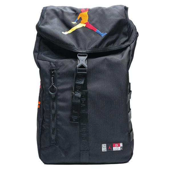 NIKE AIR JORDAN 彩色飛人 大後背包 運動 休閒 後背包 (布魯克林) 9A0254-K5T