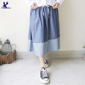 【秋冬降價款】American Bluedeer - 牛仔寬鬆裙  秋冬新款