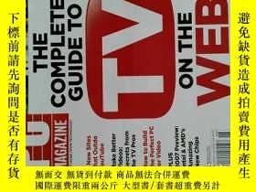 二手書博民逛書店PC罕見Magazine 2007年2月6日 英文個人電腦雜誌 可用樣板間道具雜誌Y14610