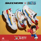 SKECHERS 休閒鞋 ONE PIECE 航海王 聯名款 魯夫 DLITES 4.0 老爹鞋 女 (布魯克林) 896033WMLT