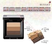 MISSHA 三色眼影 修容粉 彩妝盒 透亮蘋果肌 粉嫩 臥蠶筆 遮瑕膏 女人我最大 眼影棒 美肌 果汁吧