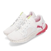 Puma 慢跑鞋 Hybrid Sky 白 粉紅 透氣鞋面 運動鞋 女鞋【PUMP306】 19257602