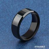 戒指韓版時尚寬版鈦鋼 男士戒指 寬版個性食指環霸氣單身         多莉絲旗艦店