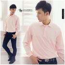 【大盤大】SANTA BARBARA 聖大保羅 170/88B 粉紅POLO衫 休閒 專櫃 口袋保羅衫 交換禮物