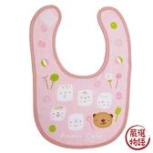 【日本製】【anano cafe】日本製 嬰幼兒寶寶圍兜兜 糖果圖案 粉紅色 SD-2904 - 日本製