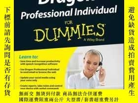 二手書博民逛書店Dragon罕見Professional Individual For Dummies, 5th Edition奇
