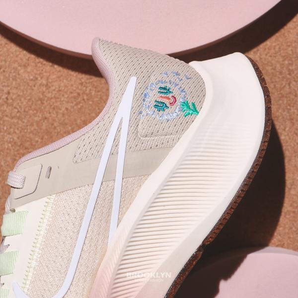 NIKE 休閒鞋 ZOOM PEGASUS 38 小飛馬 粉橘 漸層 刺繡 慢跑 訓練 女 (布魯克林) DM7195-211