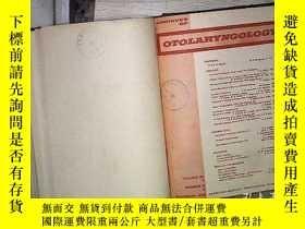 二手書博民逛書店ARCHIVES罕見OF OTOLARYNGOLOGY VOL