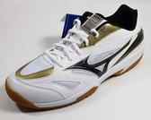 美津濃MIZUNO GATE SKY 基本型體寬楦羽球鞋 - 71GA174008(白X黑)[SUN=]