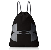 Under Armour UA Ozsee Sackpack [1240539-001] 健身袋 束口袋 抽繩 輕量 黑