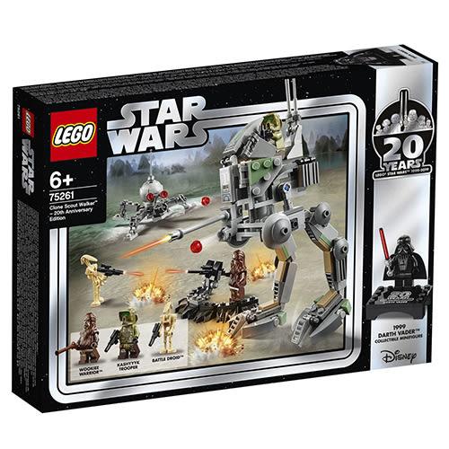 樂高積木 LEGO 2018《 LT75261》STAR WARS 星際大戰系列 - Clone Scout Walker™ – 20th Anniversary Edition