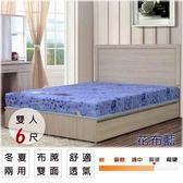 床墊【UHO】卡莉絲名床-2.3mm高碳鋼6尺雙人加大床(蓆面)