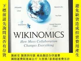 二手書博民逛書店英文原版罕見Wikinomics: How Mass Collaboration Changes Everythi