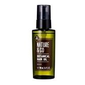 【KOSE 高絲】ANTURE & CO 植淬舒活護髮油 100ml 效期2022.06【淨妍美肌】