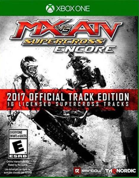 X1 MX vs. ATV: Supercross Encore - 2017 Official Track Edition 飆風越野 超級交叉安可版(美版代購)