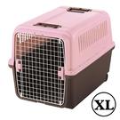 PetLand寵物樂園《日本RICHELL》運輸提籠附輪子 XL號 / 粉紅色