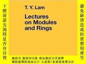 二手書博民逛書店Lectures罕見On Modules And Rings (graduate Texts In Mathema