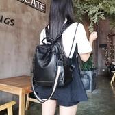 後背包-真皮-牛皮大容量純色休閒女側背包2色73yi12【巴黎精品】