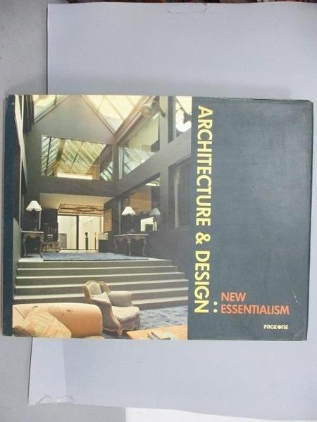 【書寶二手書T3/設計_RIX】Architecture & Design