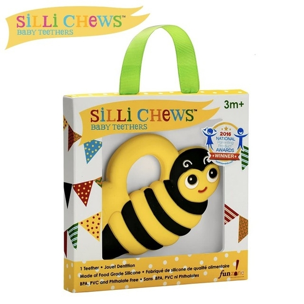 【silli chews】小蜜蜂咬牙器【六甲媽咪】