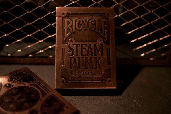 撲克牌 BICYCLE T11 Steampunk 金色 外盒凸字