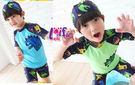 得來福,F8恐龍短袖兒童泳衣小朋友游泳衣男泳褲,售價499元