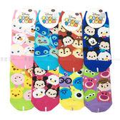 【KP】15-22cm 兒童襪 卡通襪 Disney 迪士尼 TsumTsum 疊疊樂 米奇米妮 小熊維尼 直版襪 襪子