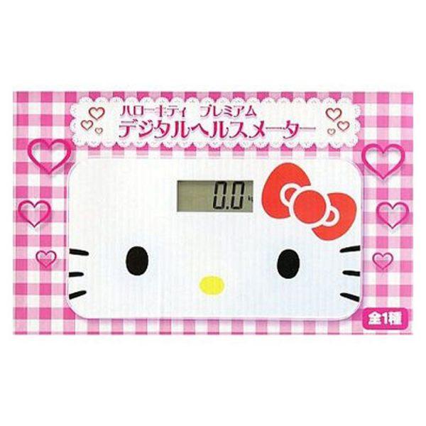 【震撼精品百貨】Hello Kitty 凱蒂貓~HELLO KITTY 大臉電子體重計景品