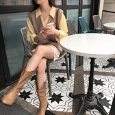 針織馬甲背心女韓版寬松V領毛衣馬夾外套【少女顏究院】