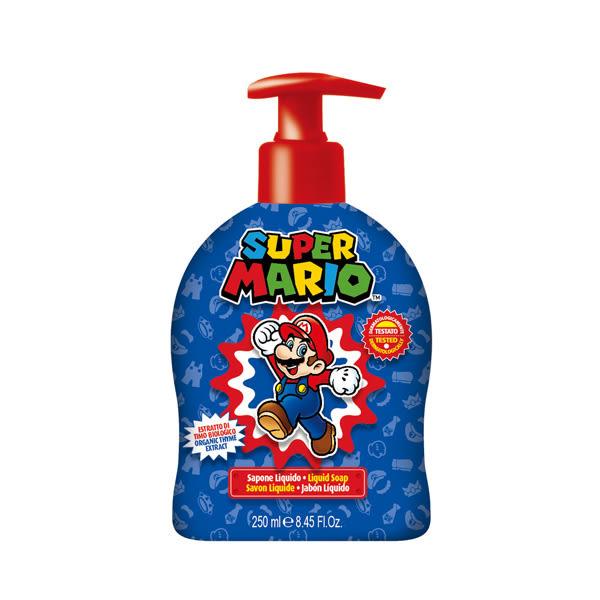 【義大利原裝進口】Super Mario潔膚露(青蘋果) -250ml,效期2021/11/01