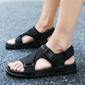涼鞋男士沙灘鞋拖鞋潮流防滑室外涼拖鞋   可然精品鞋櫃