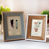 美式照片相架像框6寸7寸8寸10寸A4裝飾擺件創意畫框掛牆相框擺台   LannaS