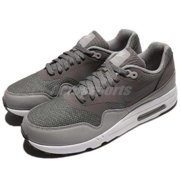 【五折特賣】 Nike 休閒慢跑鞋 Air Max 1 Ultra 2.0 Essential 灰 白 氣墊 經典鞋款 男鞋【PUMP306】 875679-003