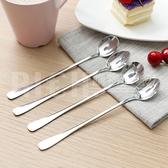 韓國創意不銹鋼長柄勺子 環保辦公室咖啡勺 攪拌勺 單售