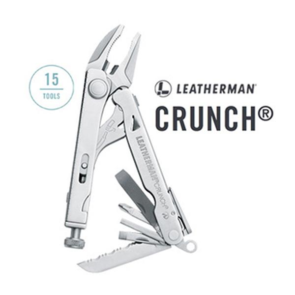 [Leatherman] Crunch鐵手工具鉗(復古皮套) 傳承限定版 (LE832545) 秀山莊戶外用品旗艦店