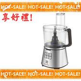 《搭贈電動椒鹽罐組》Electrolux EFP7804S / EFP7804 伊萊克斯 設計家系列 食物料理機 攪拌機