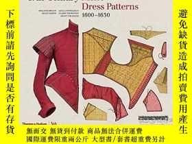 二手書博民逛書店17th-Century罕見Men s Dress Patter