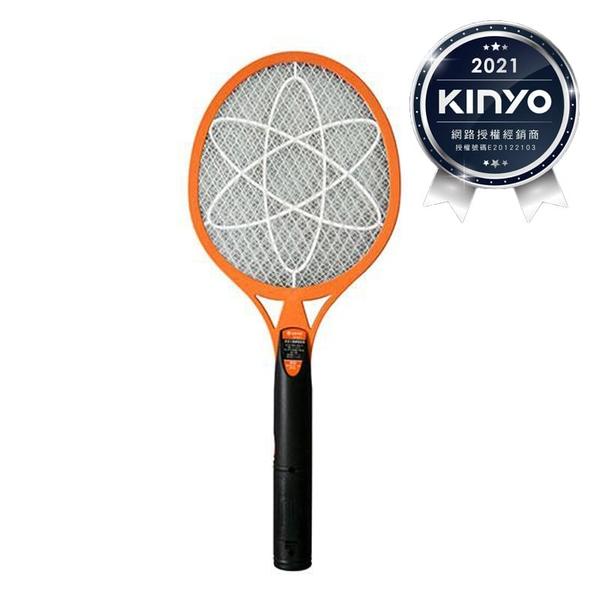 KINYO 電池式 安全三層網 電蚊拍(CM-2211)【康鄰超市】