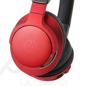 鐵三角 ATH-AR5BT 紅色 便攜型 可通話 無線藍牙 頭戴式耳機