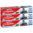 高露潔 防蛀含氟兒童牙膏 40gx3入 -香香水果口味(蝙蝠俠)