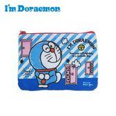 【日本正版】哆啦A夢 零錢面紙包 零錢包 卡片包 收納包 小叮噹 DORAEMON 三麗鷗 Sanrio - 468538