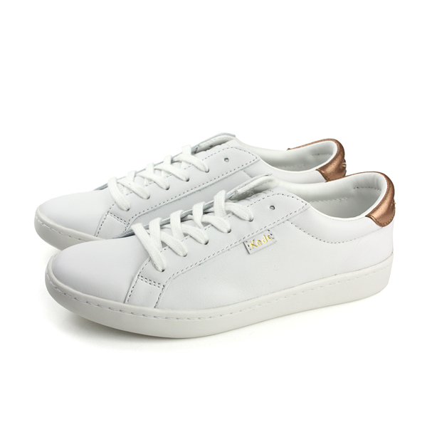 Keds ACE LTHR/METALLIC HEEL 休閒 皮質 白色 女鞋 9181W132402 no270