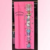 加長170cm Hello Kitty Sanrio人物 和風門簾 輕鬆改變居家風格 裝飾 日本製正版