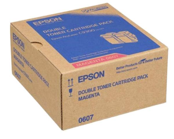 S050607 EPSON 原廠(雙包裝)紅色碳粉匣 (壽命15000張) AL-C9300N