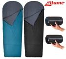 丹大戶外【Litume】FENC® Insulate 科技棉睡袋 C065 黑/藻綠兩色 睡袋│睡墊│露營│寢具